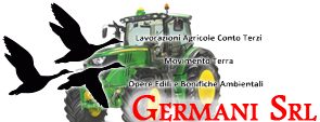 GermaniSrl Movimento terra,Logo Germani Srl.